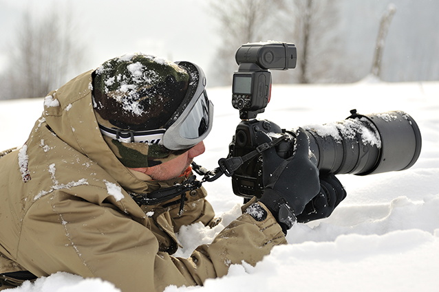 Photographing in the Snow